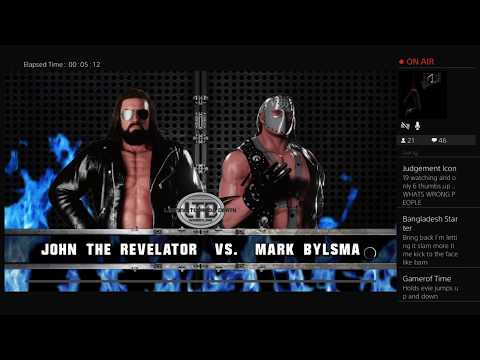 WWE2K18: LTD Wrestling Special - Gladiator Title Tournament 12.11.17