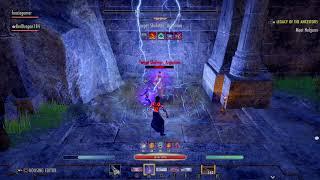 The Elder Scrolls Online: Tamriel Unlimited Magsorc Dps Test 39.6k