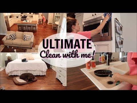 ULTIMATE CLEAN WITH ME // MAJOR CLEANING MOTIVATION // CLEANING AFTER BEING SICK