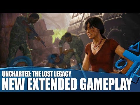 Uncharted: The Lost Legacy New Extended Gameplay - The Secret To Writing Chloe And Nadine