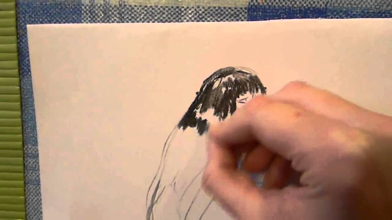 картинки для девочек карандашом для начинающих