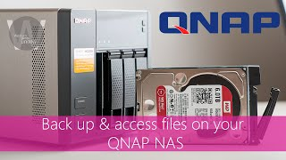 Back up & access your data on a ONAP NAS in this case a TS-453A for any QNAP NAS