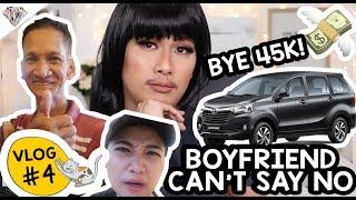 BYE ₱45,000!!! BOYFRIEND CANT SAY NO CHALLENGE | NEW CAR?! | MAE LAYUG VLOG #4