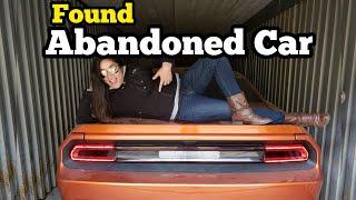 FOUND CAR & HARLEY DAVIDSON MOTORCYCLE I Bought Abandoned Storage Unit Locker Auction Mystery Boxes