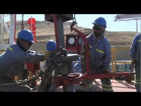 Oil Discovered in Afghanistan - First Oilfield Opened in Afghanistan