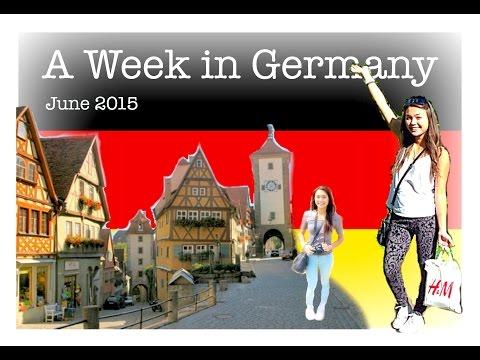 A Week in Germany // Summer Travel Vlog!