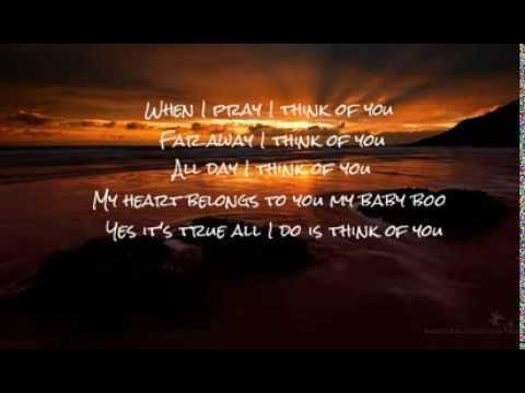 I Think Of You  - Taj Jackson (Lyrics)