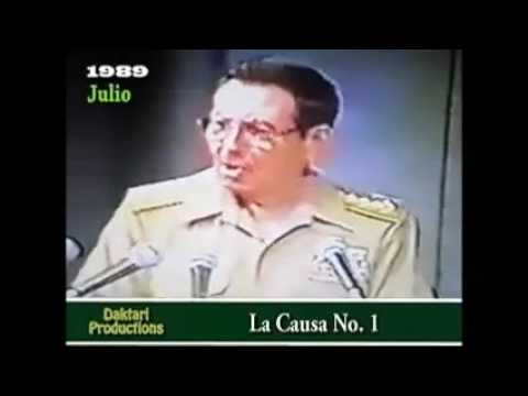 1989 JUICIO AL GENERAL ARNALDO OCHOA (video completo 1,5 horas