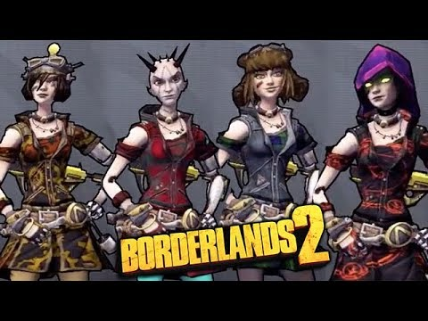 Full Download] Borderlands 2 All Mechromancer Dlc Heads And