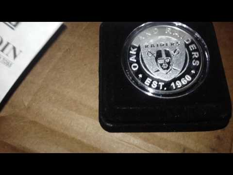 2016 NFL FANTASY FOOTBALL COIN LEAGUE coin package opening