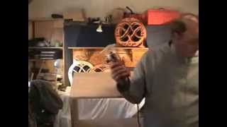 How To Carve An Irish Celtic Toy Chest  Saint Patricks Day