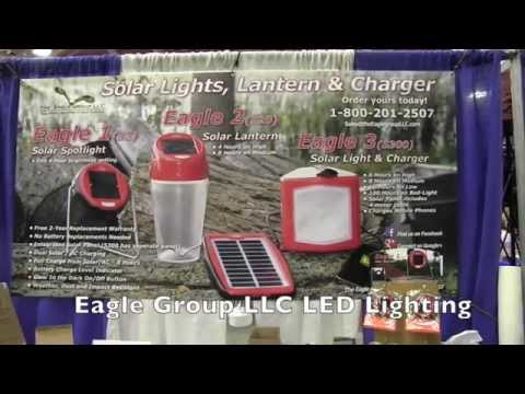 Rechargeable LED Solar Camping Lights from Eagle Group LLC Lighting: By The Weekend Handyman