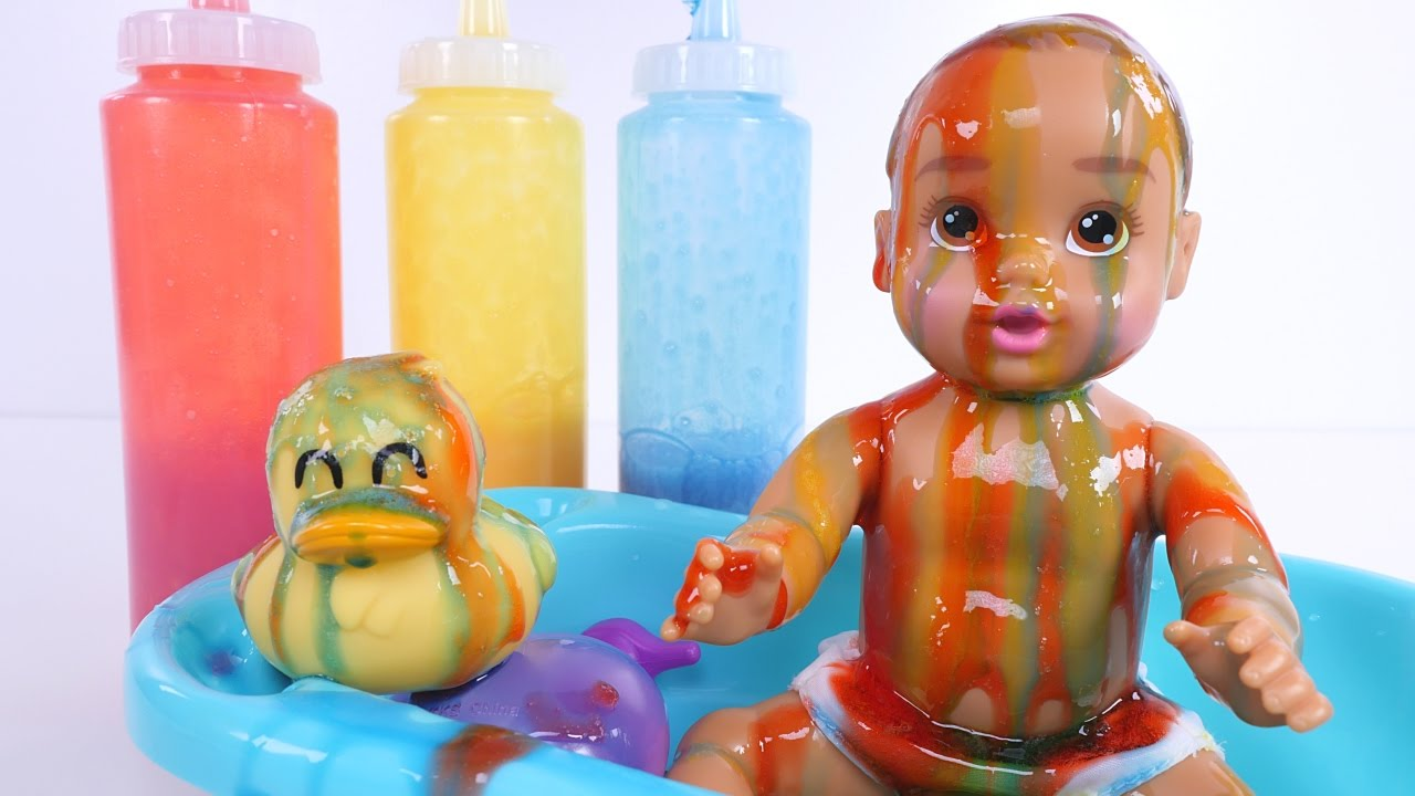 Colors for toddlers and babies - Learn Colors For Children With Slime Learning Colors For Toddlers Babies And Kids Lesson