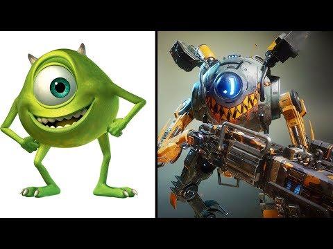 Download Youtube: Asi Se Verian Estos 5 Personajes Animados Si Fueran Robots