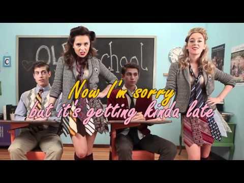 """ Megan & Liz "" - Old school love - Karaoke instrumental"