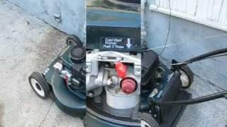 Lawn Mower Repair pt.1: starts & dies, Tecumseh/Craftsman, Alameda Repair Shop thumbnail