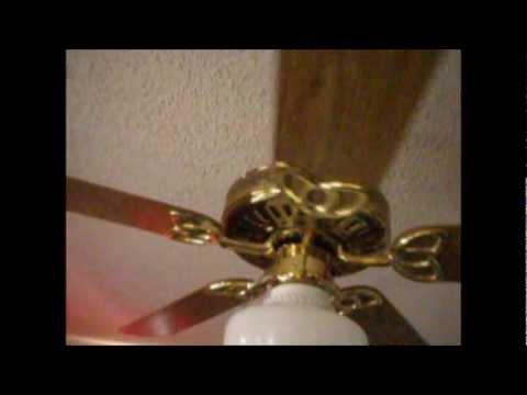 Encon Monarch Ceiling Fan With Schoolhouse Light Kit