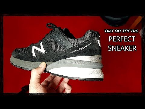 New Balance 990 v5: unboxing and review