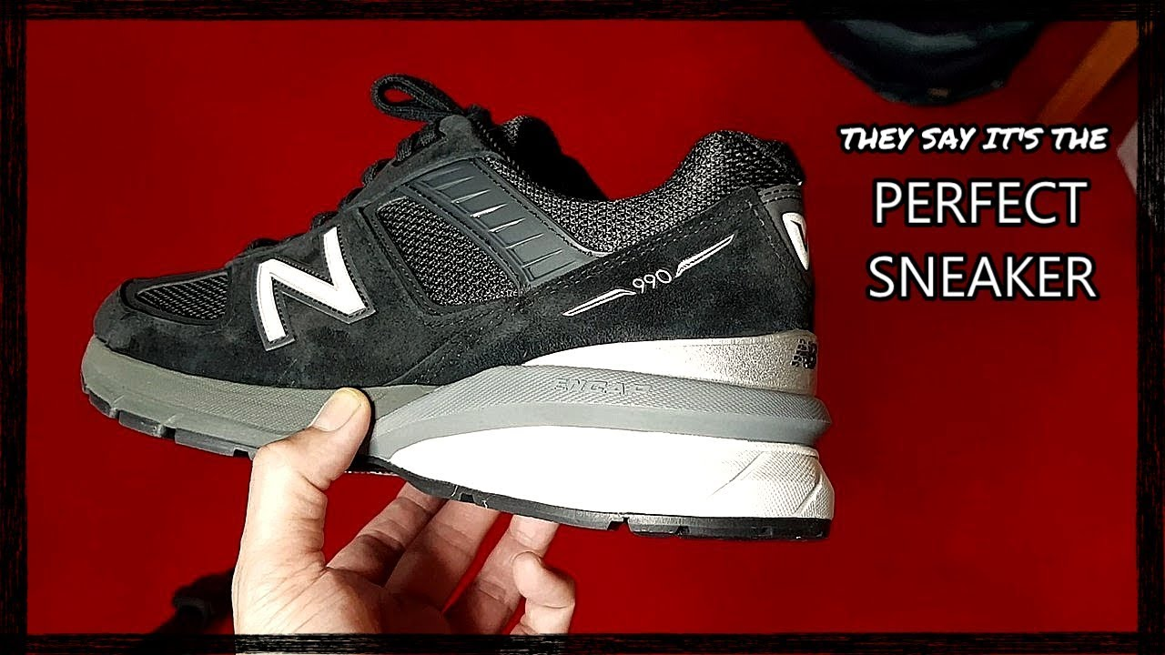 new style 0ebbc 1391f New Balance 990 v5: unboxing and review