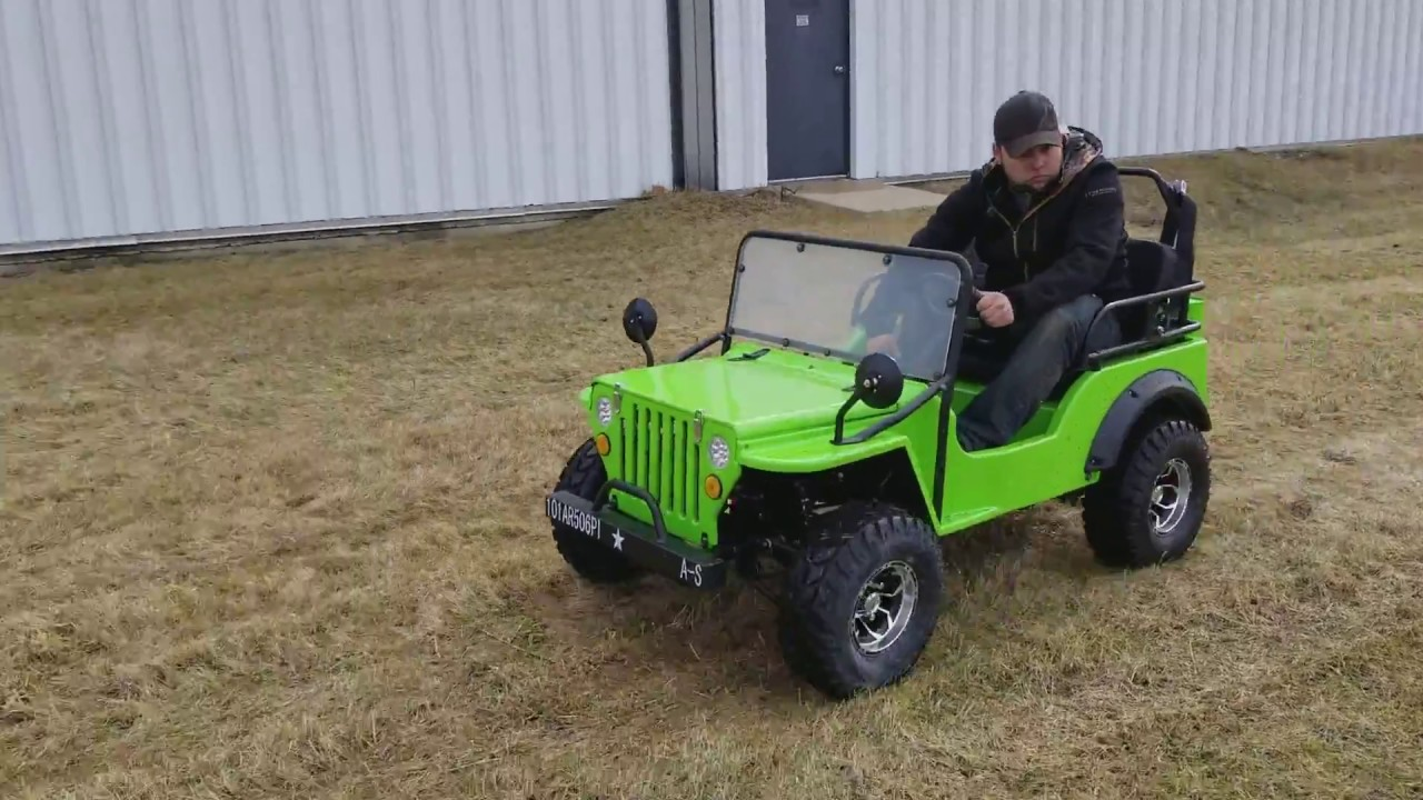 LIME GREEN Gas Golf Cart Mini jeep For Sale From SaferWholesale.com on garden tractors that look like jeeps, trucks that look like jeeps, cars that look like jeeps, suvs that look like jeeps,