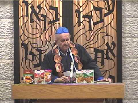 Latke Hamentashen Debate 2012 - Latkes - Herb