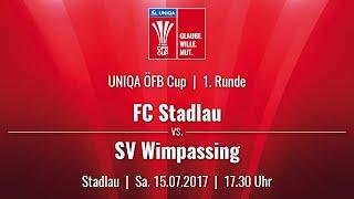 Video 15.07.2017 / 17:30 Uhr FC Stadlau (STA) vs. SV Wimpassing (WIM) download MP3, 3GP, MP4, WEBM, AVI, FLV Agustus 2017