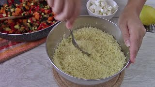 buongiorno e ben ritrovati. Oggi vi propongo la ricetta per preparare un couscous facile e buono e insieme ad essa vi mostro tutti i passaggi che compio per la ...