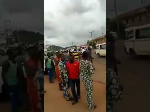 """Ole, Ole"": Residents Chant As Dino Melaye Arrives Kabba, Kogi  (Watch Video)"