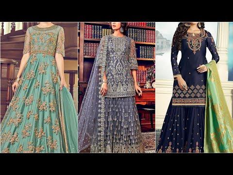 40 × embroidered dresses| lehenga choli design|   Eid collection for girls.