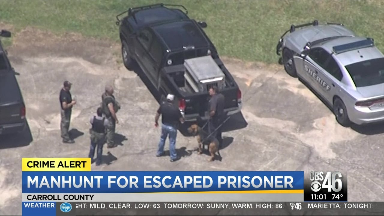 Manhunt continues for escaped inmate