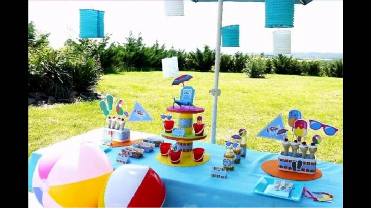 Pool Party Ideas For Kids winter time pool party amandas parties to go Pool Party Decorations For Kids