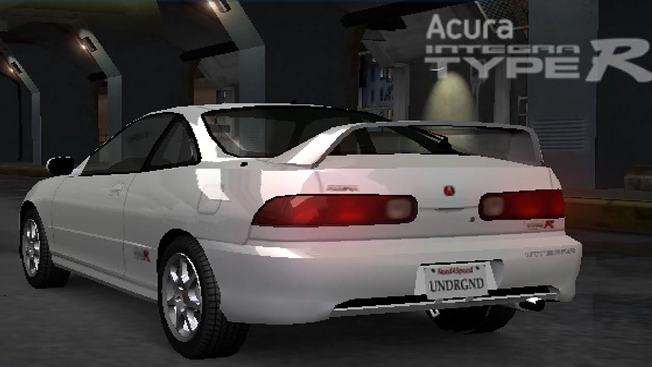 Need For Speed: Underground - Acura Integra Type R - Test ...