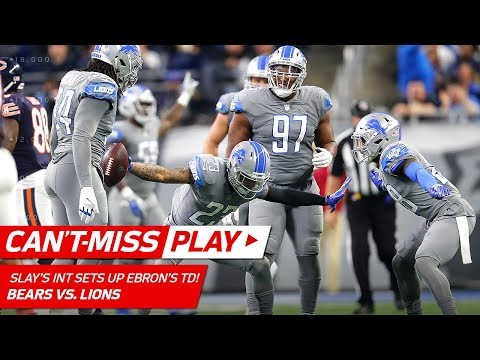 Slay's Toe-Tap INT Leads to Stafford's TD Strike to Ebron! | Can't-Miss Play | NFL Wk 15 Highlights