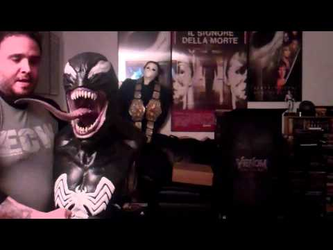 Frankie Love Presents The Epic Unboxing Of The Sideshow Collectibles Venom Life Size Bust