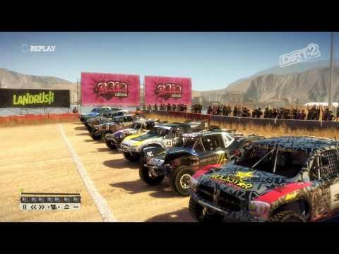 Dirt 2 Truck Race at Baja