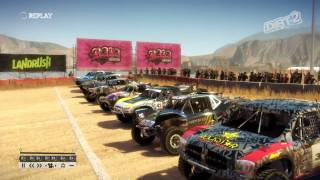 Dirt 2 Truck Race at Baja