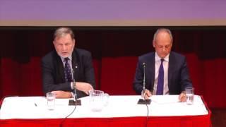 """Big City, Big Ideas"" lecture series: University of Toronto President Meric Gertler"