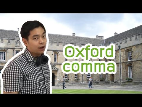 Oxford comma (Serial comma) | Ajarn Pie