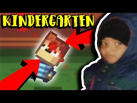BRYSEN 15 YEARS AGO WOULDN'T SURVIVE THIS KINDERGARTEN // Kindergarten thumbnail