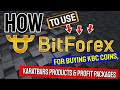 How To Use BitForex For Buying KBC Coins, KaratBars Products & Profit Packages