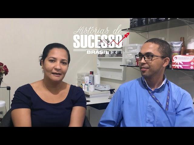 História de sucesso - Leidiane Barbosa