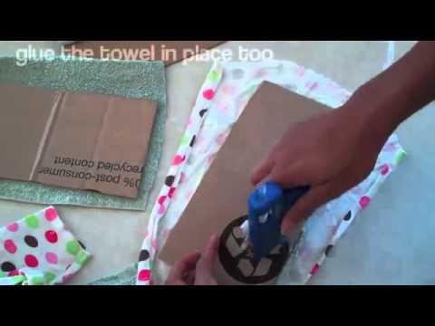 How to Make a Doll Sofa 21504