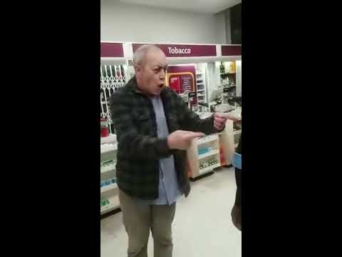 Racist old man at Sainsbury's