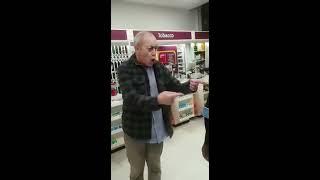 Racist old man at Sainsbury's