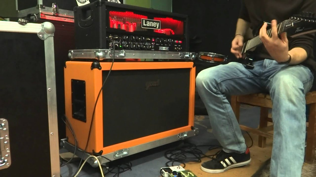Laney Ironheart IRT60H - Lead Channel (with Sony HX200V) - YouTube