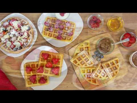 Quest Appliances 2 Slice Waffle Maker