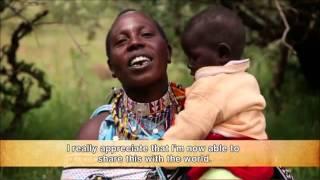 収入向上プロジェクトとして、マサイ族のママが伝統のビーズ技術を使っ...
