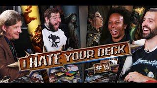 I HATE YOUR DECK #19 Post Malone vs The Professor vs IHYD    Commander Gameplay MTG EDH