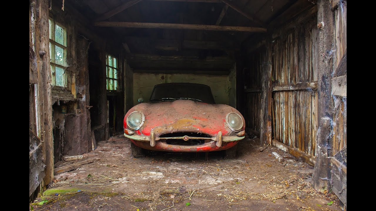 BARN FIND | 1964 Jaguar E-Type - YouTube