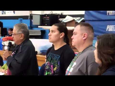 Honoring Littlesky Family @ Oklahoma Benefit Dance 2013